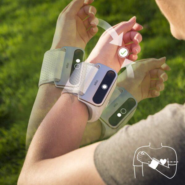 Braun Icheck7 misuratore pressione da braccio