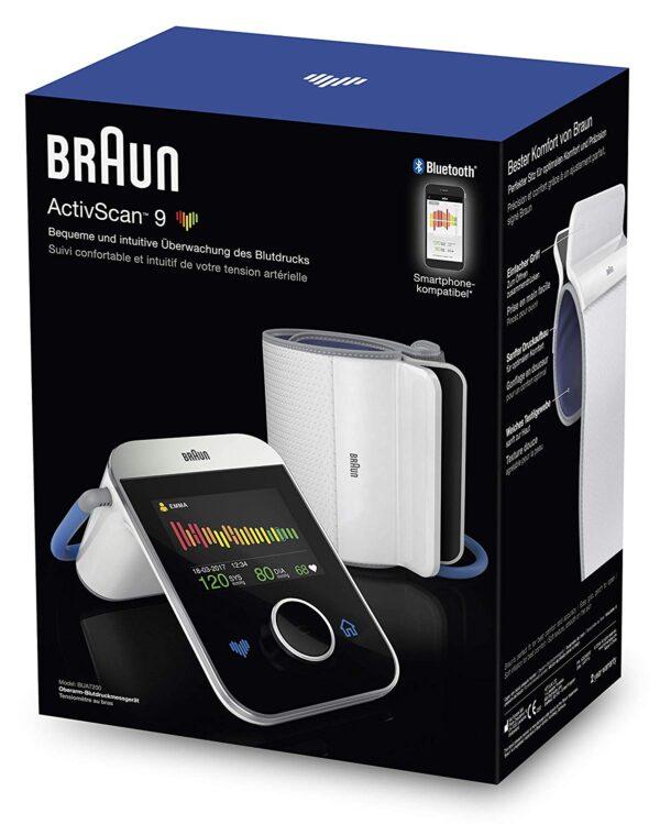 Salus-shop Braun ActiveScan 9 misuratore pressione da braccio